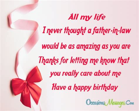 birthday wishes  father  law occasions messages