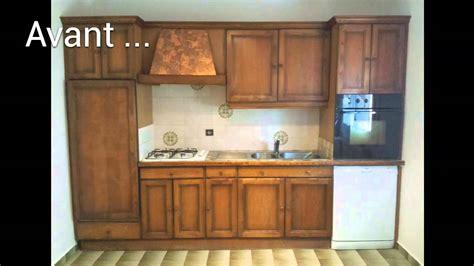renovation cuisine bois avant apres renovation cuisine en image avant aprés