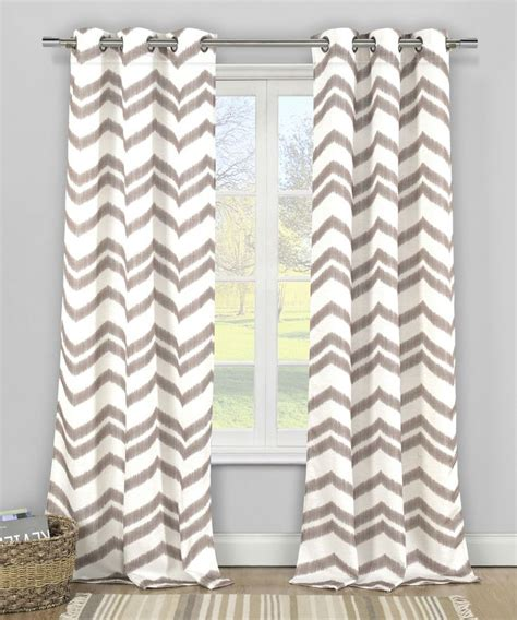 cocoa vauxhall textured faux linen curtain panel for the