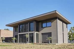 Maison En Bois Nord : maison passive nord 59 wasquehal bati bois concept nord ~ Nature-et-papiers.com Idées de Décoration