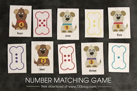preschool number matching inspiration made simple 774 | preschool game