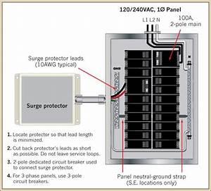 Surge Suppressor Wiring