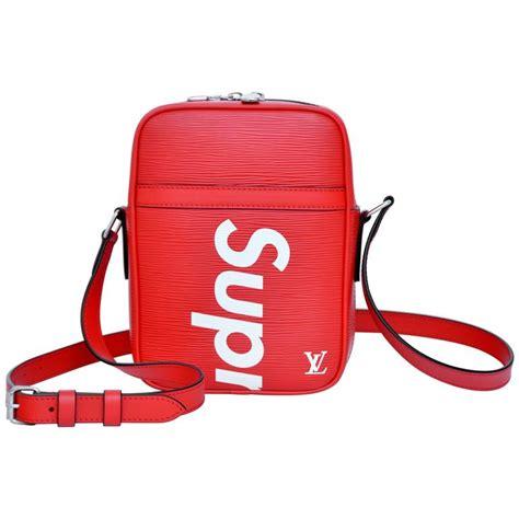 large leather purse supreme louis vuitton shoulder bag danube pop up