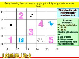6 Figure Grid References Maps By Phelps Teaching