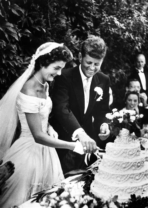 Jackie O And John F Kennedy Celebrity Wedding Pictures