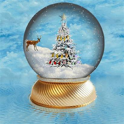 Snow Globe Christmas Globes Xmas Animated Deviantart