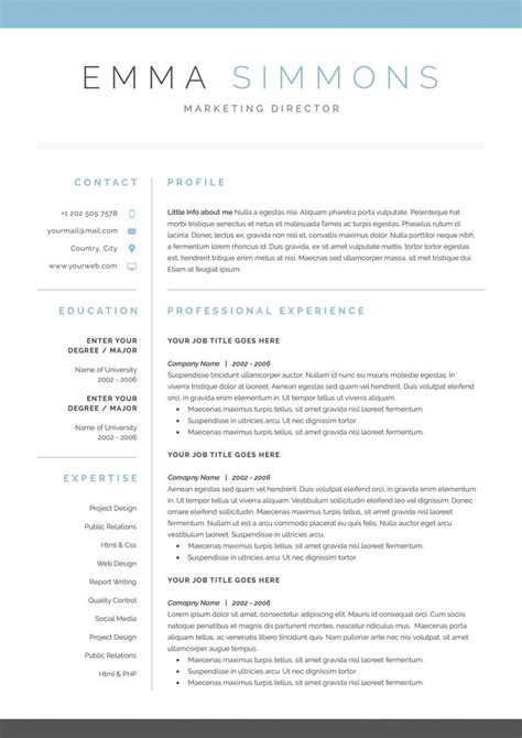 Cover Letter Templates For Resume by Best 25 Cover Letter Template Ideas On Cover