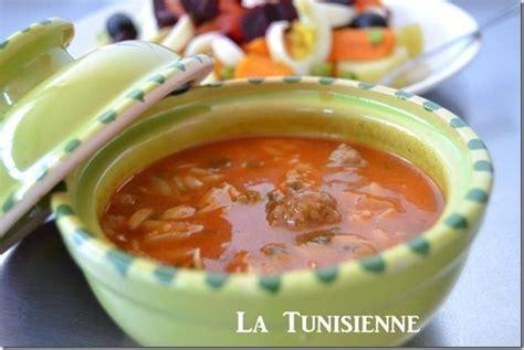 cuisine tunisienne chorba chorba tunisienne aux langues d oiseau lsen asfour