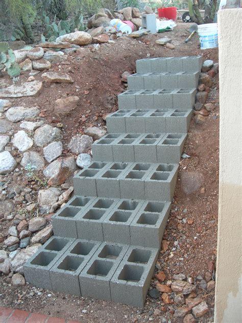 Decor Impressive Design Cinder Block Steps For Gorgeous