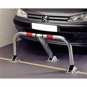 Barrière De Parking Rabattable : barri re de parking rabattable en acier 5 3 cm mottez ~ Dailycaller-alerts.com Idées de Décoration