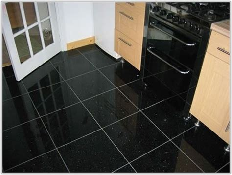Black Granite Kitchen Floor Tiles How To Decorate Small Living Dining Room Combo Furniture Designs For In India Curtain Ideas Elegant Nordic Escape Game Walkthrough Storage Used Houston Moroccan Decorating