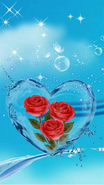 Heart Flower Hearts Backgrounds Frozen Anna Rrr