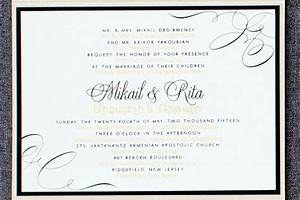 wedding invitation wording lawyer yaseen for With wedding invitation etiquette lawyer