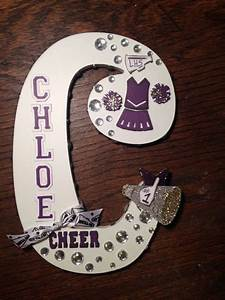 cheerleading letter for homecoming football wood signs With cheer letter signs