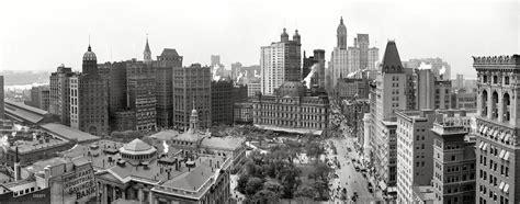 Manhattan Circa 1908 Downtown New York York New York City
