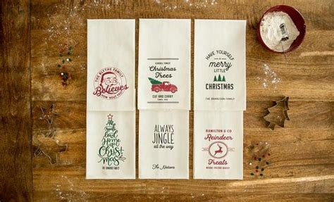 personalized christmas tea towels qualtry