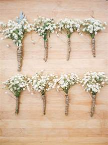 boutineer cost rustic wedding ideas baby 39 s breath boutonniere or