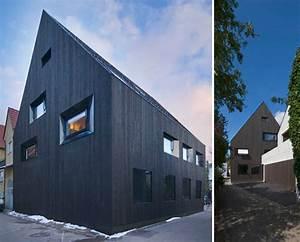 Haus Mit Holzfassade : modernes haus mit holzfassade ~ Markanthonyermac.com Haus und Dekorationen