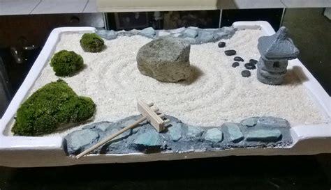 garden zen own rock mini desk create miniature