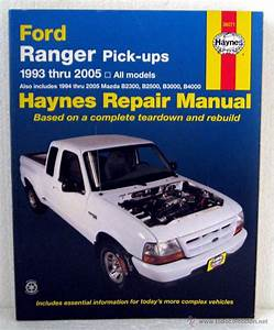 Libro Ford Ranger Pick Up 1993 -2005 - Mazda B2
