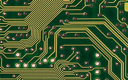 Microcircuit Component Chip Parts Widescreen Background