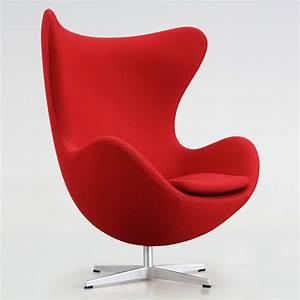 Egg Chair Arne Jacobsen : original egg egg arne jacobsen egg chair upholstered with ~ A.2002-acura-tl-radio.info Haus und Dekorationen