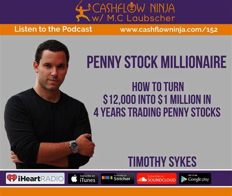 timothy sykes   turn    million