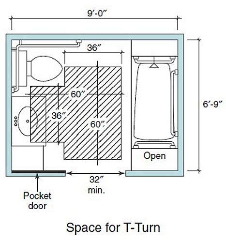 bathroom design dimensions accessible living bathroom wheelchair clearance t turn