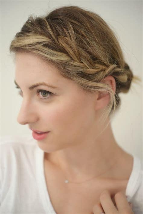 belle coiffure femme etape par etape coiffure simple