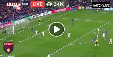Live Football – FC Barcelona Vs Villarreal – Live ...