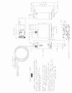 7050 Cmc Hydraulic Actuator 5 U0026 39  U0026 39  Standard Actuator