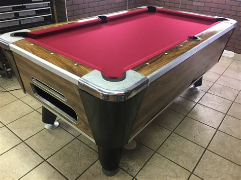 coin op pool table 6 39 coin operated bar pool tables used coin operated bar