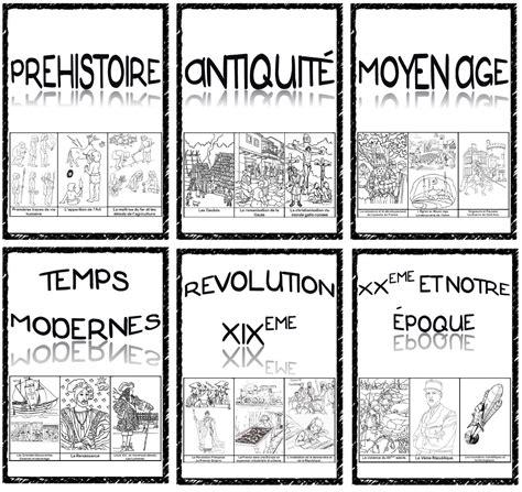 outils pour enseigner l histoire en cm frise intercalaires pages titres ma maitresse de