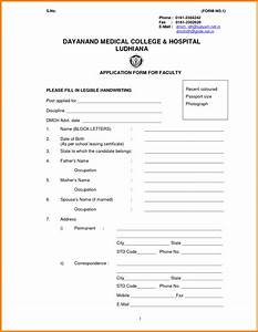 sample biodata format for job idealvistalistco With biodata covering letter format