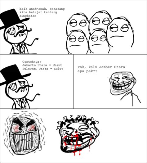 Meme And Rage Comic Indonesia - meme comic indonesia blog perbedaan meme dan rage comic