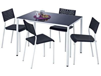 table de cuisine conforama table de cuisine avec chaise mobilier sur enperdresonlapin