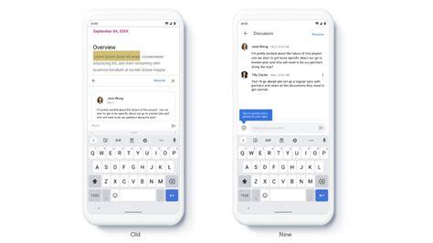 Google Docs, Sheets und Slides: Neue Benutzeroberfläche ...