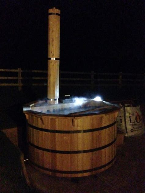 hire a tub hire a wood fired tub thelogcompany