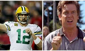 Aaron Rodgers totally won this Happy Gilmore Twitter ...