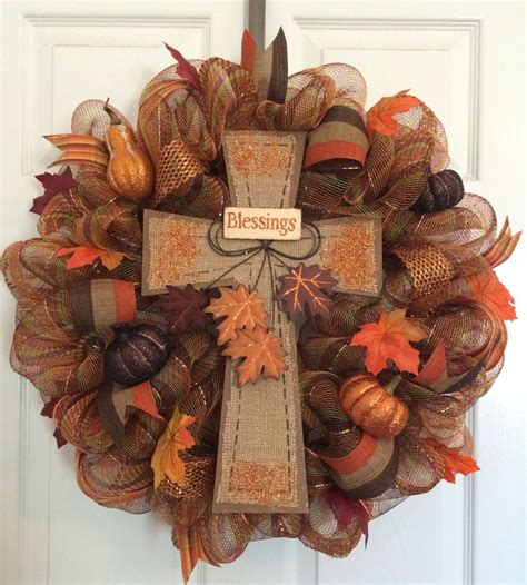 Fall Wreath Diy Project  Sweet  Sassy  And A Bit Smart