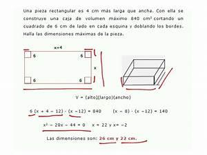 Problemas De Ecuaciones Cuadraticas