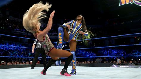 naomi  carmella smackdown  march   wwe