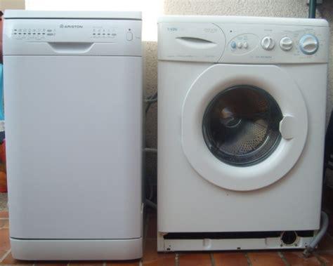 lave vaisselle sur lave linge troc echange lave linge vedette lave vaisselle ariston sur troc