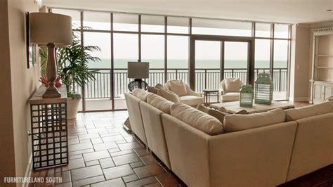 luxury oceanfront condo contemporary living room