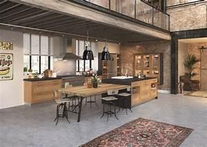 cuisine ilot central 12 photos de cuisinistes cote maison With meuble de cuisine ilot central 8 ilot central cuisine industriel belle cuisine nous a