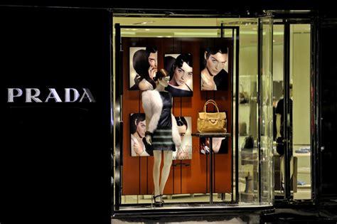 prada window display  toronto