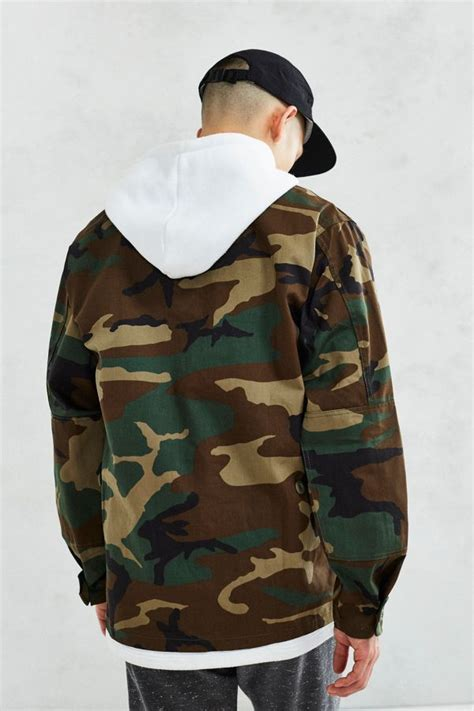 Rothco Camo Field Jacket   Urban Outfitters