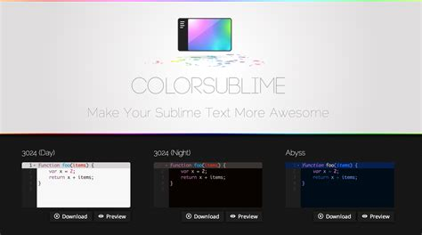 sublime color schemes colorsublime sublime text color schemes heshsum