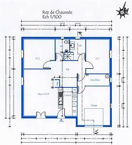 plan de maison trecobat la villa eroise maison signe With photo de plan de maison 1 bardeaux de cadre