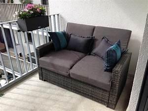Balkon Sichtschutz Zum Ausziehen : lounge sofa zum ausziehen als bett neuwertig in m nchen gartenm bel kaufen und verkaufen ~ Markanthonyermac.com Haus und Dekorationen